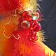 Новый год 2018 ручной работы. Рыжая. Ирина Ахилова. Ярмарка Мастеров. Подарок, украшение интерьера, чудесный подарок, флористическая губка