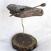 """Для дома и интерьера ручной работы. Ярмарка Мастеров - ручная работа Статуэтка """"Каяк"""". Handmade."""