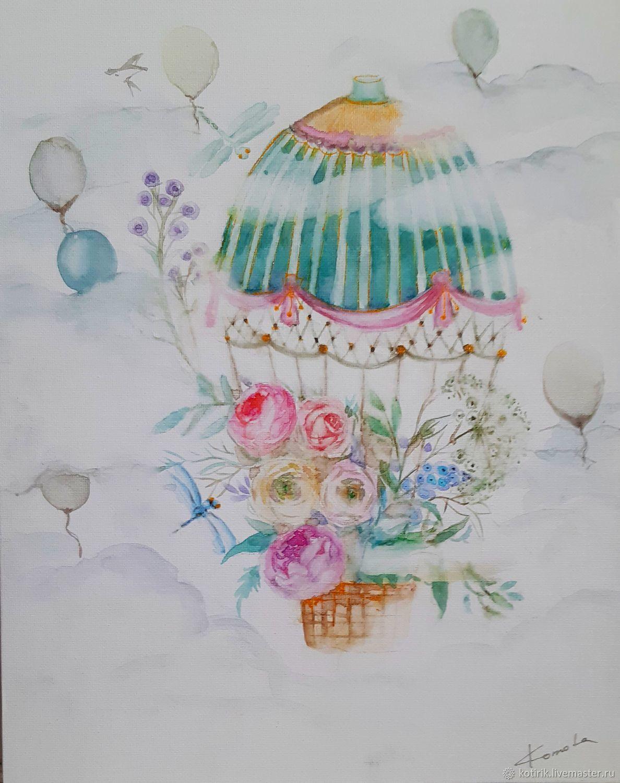 Весенний полет, Картины, Люберцы,  Фото №1
