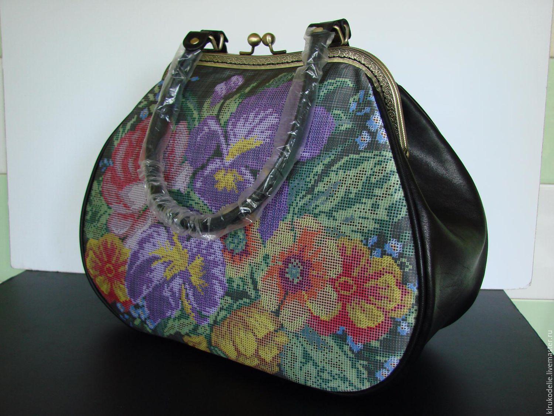 Купить заготовки для вышивки бисером сумки