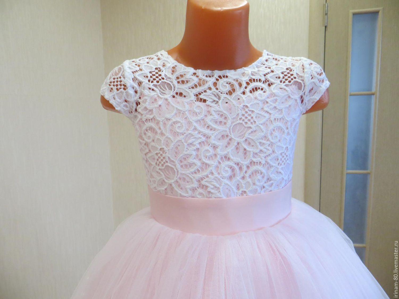 Мастер класс нарядное детское платье