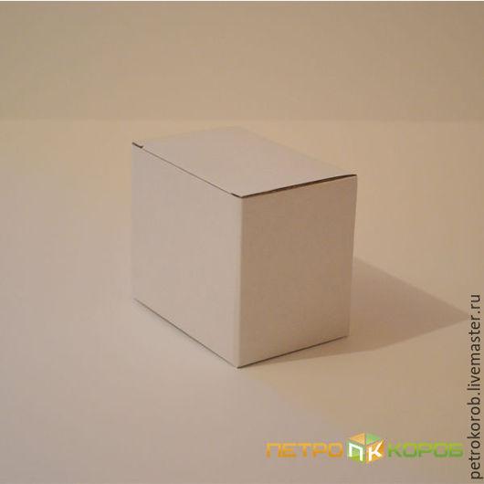 Упаковка ручной работы. Ярмарка Мастеров - ручная работа. Купить Самосборная коробка  032/1  17,8х7,2х12,7см белый. Handmade.