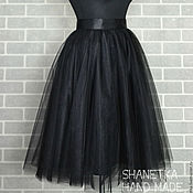 Одежда handmade. Livemaster - original item Skirt tutu sun of soft tulle for adults. Handmade.