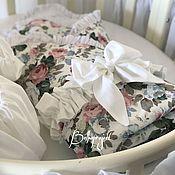 Конверты на выписку ручной работы. Ярмарка Мастеров - ручная работа Конверт одеяло на выписку, юбочка на кровать. Handmade.