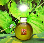 Материалы для творчества handmade. Livemaster - original item Oil of plantain (infus cold extraction) from Chanterelles. Handmade.
