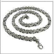 Украшения handmade. Livemaster - original item Chain steel no. 3 Length 50 cm.. Handmade.