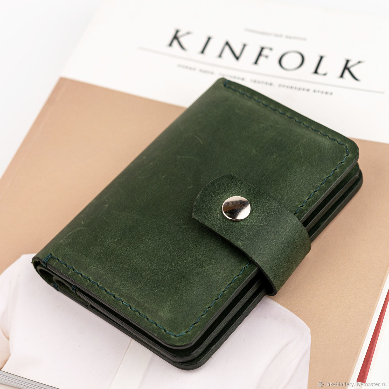 Handmade wallet for passport, documents, money and cards, Purse, Moscow,  Фото №1
