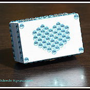 Свадебный салон handmade. Livemaster - original item Cushion-box for rings. Handmade.