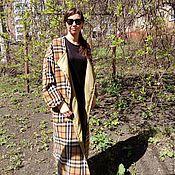 Одежда handmade. Livemaster - original item Coat Cage barberie wool 100. Handmade.