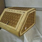 Корзины ручной работы. Ярмарка Мастеров - ручная работа Хлебница из бересты. Handmade.
