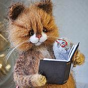 Куклы и игрушки handmade. Livemaster - original item Read CAT and MOUSE crochet toy. Handmade.