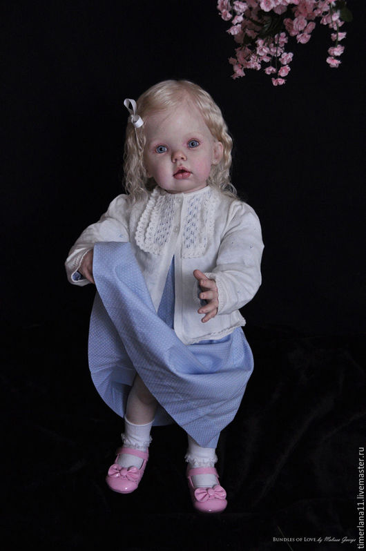 "Куклы и игрушки ручной работы. Ярмарка Мастеров - ручная работа. Купить Молд заготовка Тибби standing (31"" Kit.Tibby, by Donna RuBert 31. Handmade."