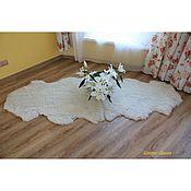 Аксессуары ручной работы. Ярмарка Мастеров - ручная работа Аксессуары: Ковёр из двух овечьих шкур. Handmade.