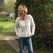 Одежда handmade. Livemaster - original item Sweater Fun. Handmade.