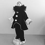 Куклы и игрушки ручной работы. Ярмарка Мастеров - ручная работа Черный Пьеро. Handmade.