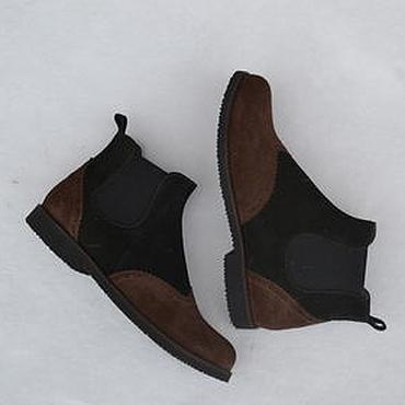 Обувь ручной работы. Ярмарка Мастеров - ручная работа Челси невысокие комбинированные. Handmade.