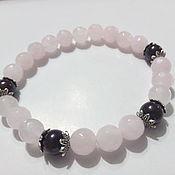 Украшения handmade. Livemaster - original item Bracelet pink quartz.. Handmade.