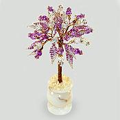 handmade. Livemaster - original item Tree of Apatite and rock crystal