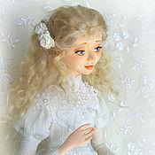 Куклы и игрушки ручной работы. Ярмарка Мастеров - ручная работа Ангел с розами. Handmade.