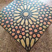 Столы ручной работы. Ярмарка Мастеров - ручная работа Кофейный столик Domum Palmarius. Handmade.