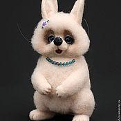 Куклы и игрушки ручной работы. Ярмарка Мастеров - ручная работа Зайка Снежана. Handmade.