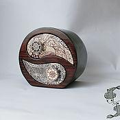 Для дома и интерьера ручной работы. Ярмарка Мастеров - ручная работа Шкатулка Инь-Ян. Handmade.