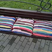 Для дома и интерьера handmade. Livemaster - original item Cushion: the cushion on the chair. Handmade.