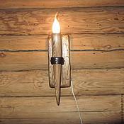 """Для дома и интерьера ручной работы. Ярмарка Мастеров - ручная работа БРА """"Факел"""" маленький №1. Handmade."""