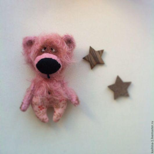 Мишки Тедди ручной работы. Ярмарка Мастеров - ручная работа. Купить Розовый мишка. Handmade. Бледно-розовый