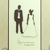 Свадебный салон ручной работы. Ярмарка Мастеров - ручная работа Приглашения для элегантной свадьбы. Handmade.