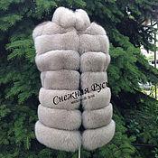 Одежда handmade. Livemaster - original item vest made of Fox fur. Handmade.