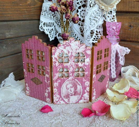 Кукольный дом ручной работы. Ярмарка Мастеров - ручная работа. Купить Ширма мебель для кукол. Handmade. Ширма, для девочки, кружево