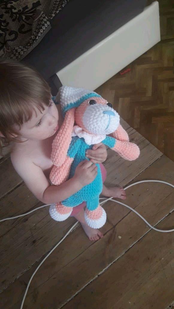 Собачка связанная, Мягкие игрушки, Сарманово,  Фото №1