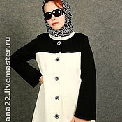 "Одежда handmade. Livemaster - original item Knitted coat ""For girls with imagination"". Handmade."