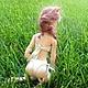 Коллекционные куклы ручной работы. Шарнирная рыжая кошка. Анастасия Науменко (KittyNN). Ярмарка Мастеров. Кукла, кукла ручной работы