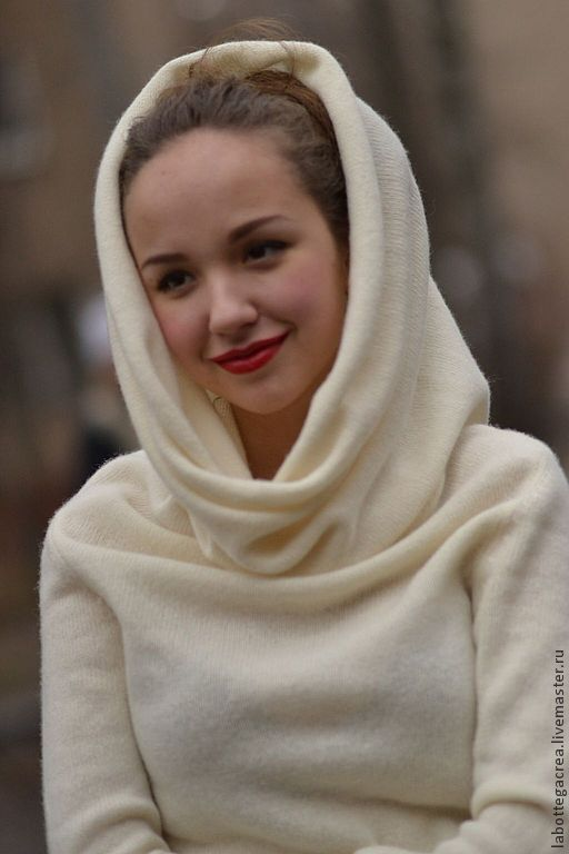 Белый пуловер женский купить