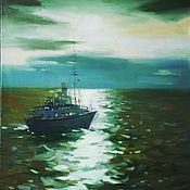 Картины и панно ручной работы. Ярмарка Мастеров - ручная работа Балтийские воды. Handmade.