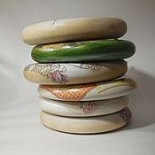 Для дома и интерьера ручной работы. Ярмарка Мастеров - ручная работа Пуговка настенное панно. Handmade.