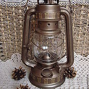 """Для дома и интерьера ручной работы. Ярмарка Мастеров - ручная работа Керосиновая лампа """"На закате дня"""". Handmade."""