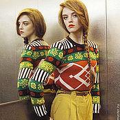 Одежда ручной работы. Ярмарка Мастеров - ручная работа Джемпер Colorful. Handmade.