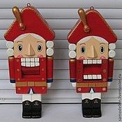 Куклы и игрушки ручной работы. Ярмарка Мастеров - ручная работа Щелкунчик деревянная игрушка. Handmade.