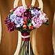 Свадебные цветы ручной работы. Букет невесты Осенний. Кира Горбова. Ярмарка Мастеров. Ягоды, claycraft by deco