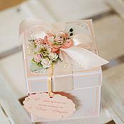 Свадебный салон ручной работы. Ярмарка Мастеров - ручная работа Коробочка для денег Magic Box свадебная. Handmade.