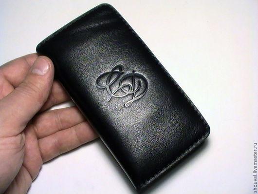 Для телефонов ручной работы. Ярмарка Мастеров - ручная работа. Купить Чехол для телефона, с кармашками для кредиток.. Handmade. Чехол для телефона