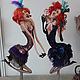 Коллекционные куклы ручной работы. Милашка  Сисиль. 'АняМаня'. Ярмарка Мастеров. Актриса, акриловые краски и лак