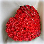 Подарки к праздникам ручной работы. Ярмарка Мастеров - ручная работа Большое конфетное сердце. Handmade.