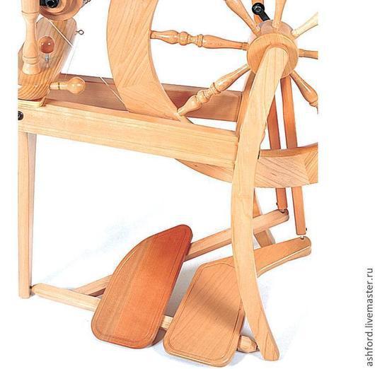 Другие виды рукоделия ручной работы. Ярмарка Мастеров - ручная работа. Купить Комплект из двух педалей, для Традиционной прялки. Handmade.