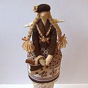 Куклы и игрушки ручной работы. Ярмарка Мастеров - ручная работа Тильда ангел Беатрис (кофейно-коричная). Handmade.