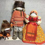 """Подарки ручной работы. Ярмарка Мастеров - ручная работа Народная кукла - оберег семьи и рода """"Дом-полная чаша"""". Handmade."""