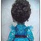 Коллекционные куклы ручной работы. Текстильная кукла Незабудка. Юлия Полякова (Fashion-doll). Ярмарка Мастеров. Подарок на любой случай